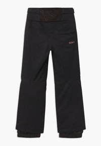 Roxy - DIVERSION MEMO - Snow pants - true black - 1
