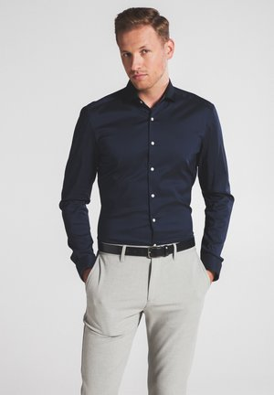 SUPER-SLIM - Formal shirt - marine