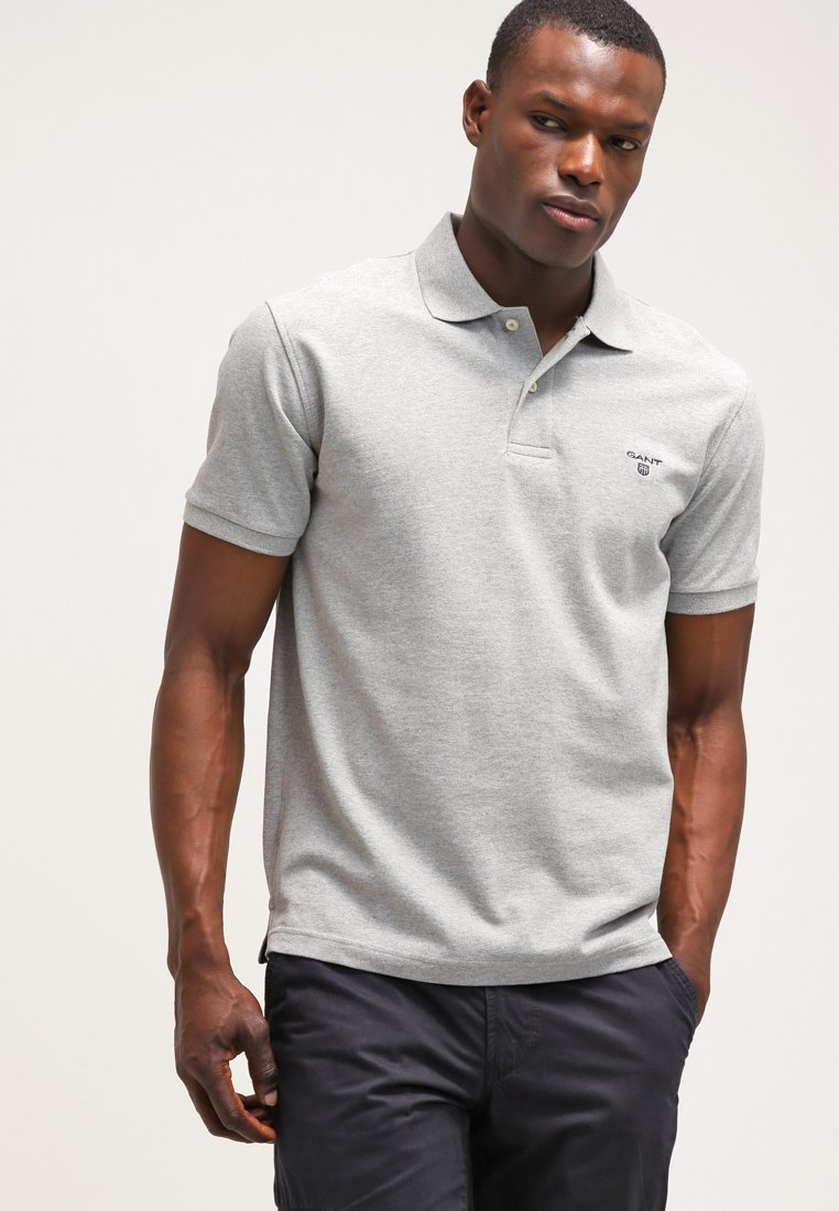 GANT - THE SUMMER - Polo shirt - silber