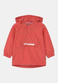 Hummel - OJO UNISEX - Waterproof jacket - tea rose - 0
