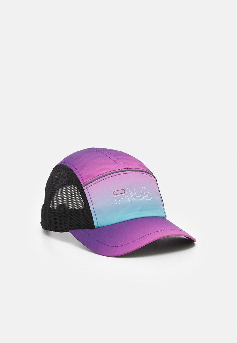 Fila - DRAWSTRING PERFORMANCE CAP PRINTED - Cap - black