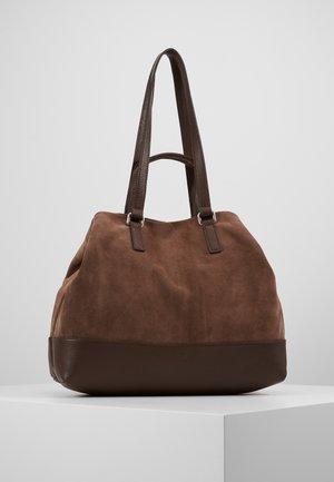 SHOPPER - Velká kabelka - mocca