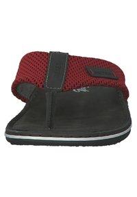 Rieker - T-bar sandals - black - 4