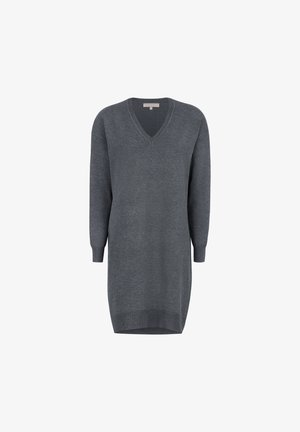 SRLEA  - Shift dress - dark grey melange