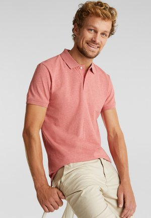 Polo shirt - coral red 5