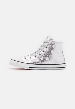CHUCK TAYLOR ALL STAR - Sneakers hoog - pure silver/pink foam/white