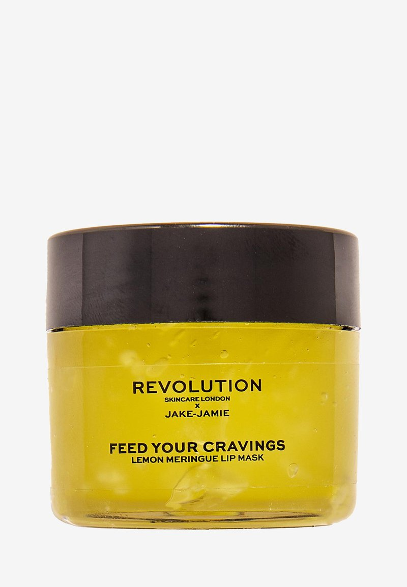 Revolution Skincare - REVOLUTION SKINCARE X JAKE JAMIE LEMON MERINGUE LIP MASK - Esfoliante labbra - -