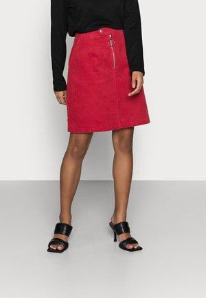 LADIES SKIRT - Mini skirt - burnt orange