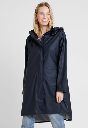 TRUE RAINCOAT - Parkaer - dark indigo