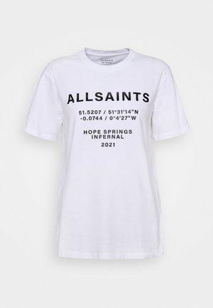 ORDINATES TEE - Print T-shirt - optic white