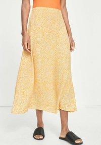 Samsøe Samsøe - A-line skirt - yellow aster - 0