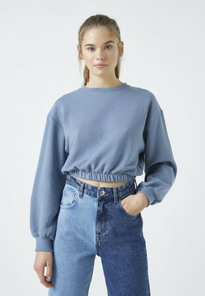 Sweater - blue-grey