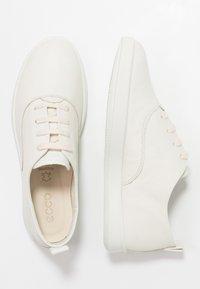 ECCO - LEISURE - Sneakersy niskie - shadow white - 3