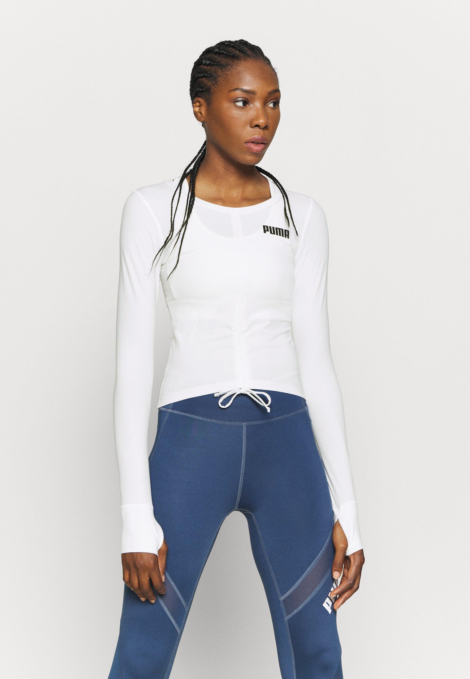 Women PAMELA REIF X PUMA COLLECTION RUSHING - Sports shirt