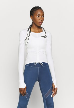 PAMELA REIF X PUMA COLLECTION RUSHING - Sports shirt - star white