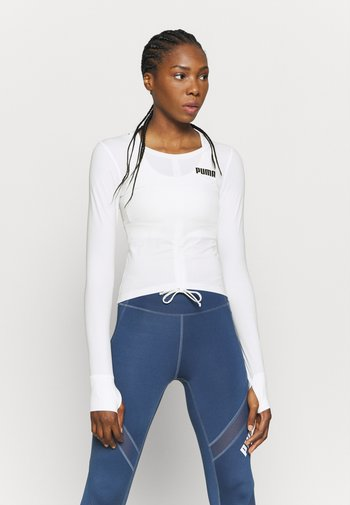 PAMELA REIF X PUMA COLLECTION RUSHING - Camiseta de deporte - star white
