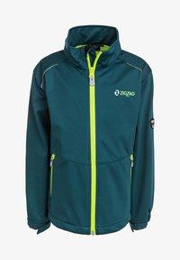 ZIGZAG - Waterproof jacket - 2122 atlantic deep - 0