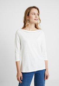 s.Oliver - 3/4 ARM - Langærmede T-shirts - creme - 0