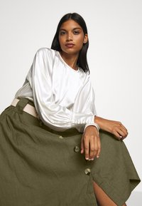 esmé studios - TASJA SKIRT - A-line skirt - dusky green - 3