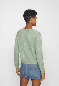 ONLY - ONLAMALIA - Cardigan - hedge green - 2