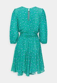 Mavi - LONG SLEEVE - Day dress - holly green print - 1