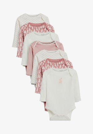7 PACK SPOT BUNNY LONG SLEEVE - Body - pink