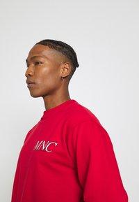 Mennace - COURTSIDE REGULAR - Sweatshirt - red - 4