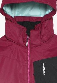 Icepeak - LEEDS  - Lyžařská bunda - burgundy - 4