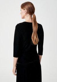 Indiska - MONTROSE - Långärmad tröja - black - 1