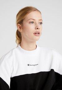 Champion - Sweatshirt - black/white - 5