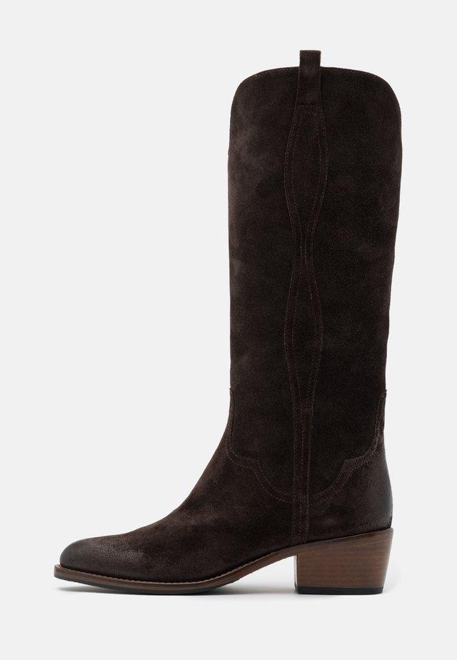 Cowboystøvler - testa di moro