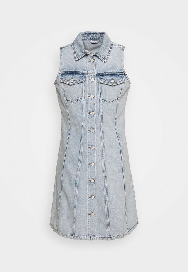 ENSPARTACUS DRESS - Robe en jean - vintage light blue