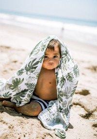 Little Unicorn - Muslin blanket - tropicalleaf - 3