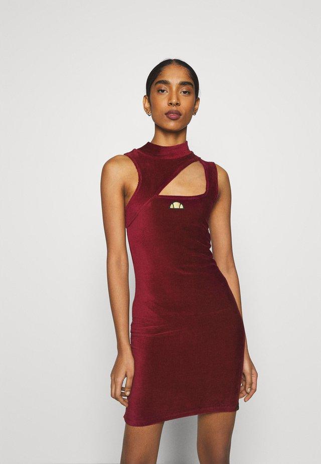 WENDIA - Sukienka letnia - burgundy