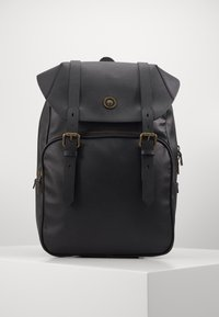 Guess - KING FLAP BACKPACK - Rucksack - black - 0
