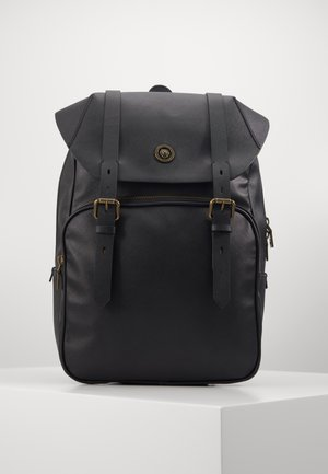 KING FLAP BACKPACK - Batoh - black