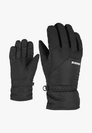 LANDO JUNIOR - Gloves - black
