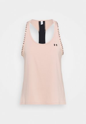 KNOCKOUT TANK - Sports shirt - desert rose