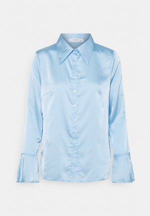 STUDIO EAGGERATED COLLAR BLOUSES - Button-down blouse - light blue