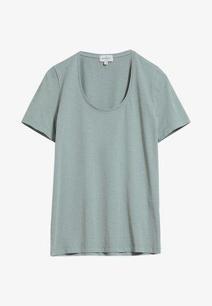 JAALINA RECYCLED - Basic T-shirt - eucalyptus green