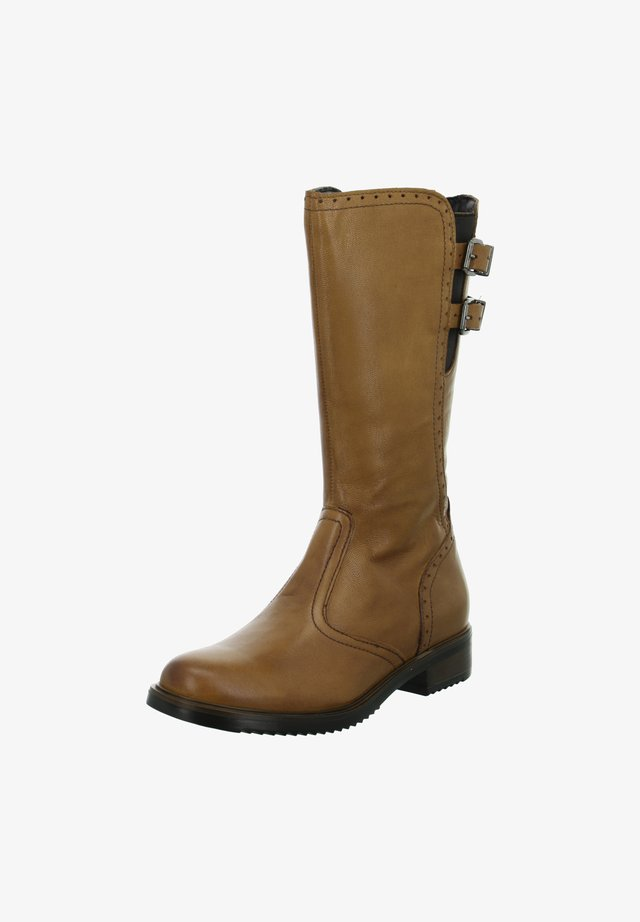 Cowboy/Biker boots - braun