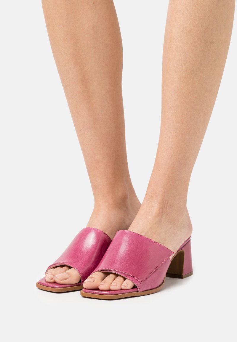 Hash#TAG Sustainable - Heeled mules - orchidea