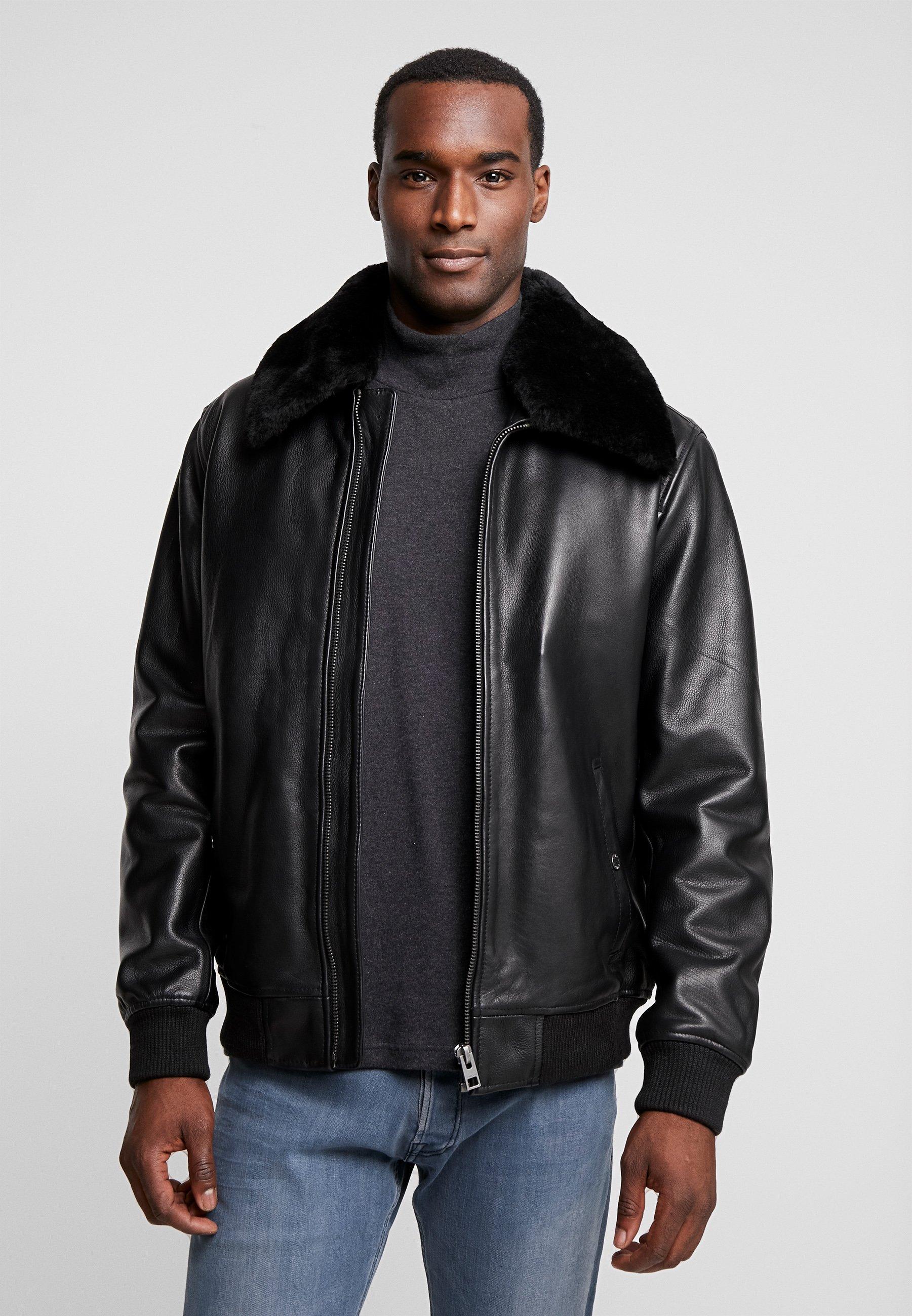 Men DADDY - Leather jacket