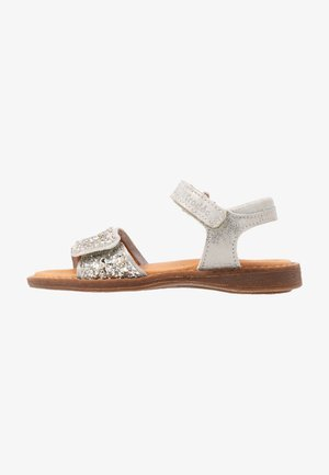 LORE SPARKLE MEDIUM FIT - Sandalen - silver