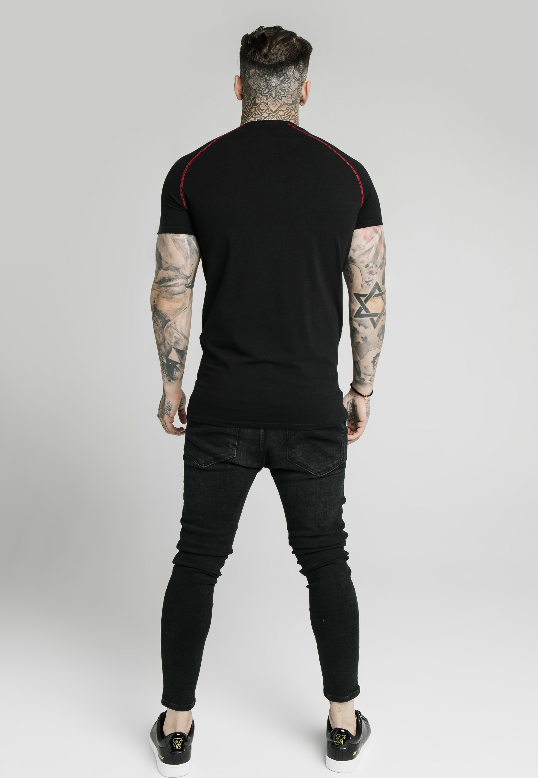Homme SIKSILK RAGLAN GYM  - T-shirt basique