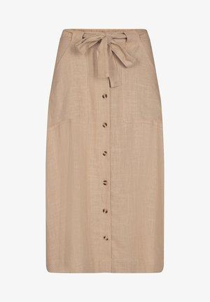 PORTIA - Maxi skirt - tan