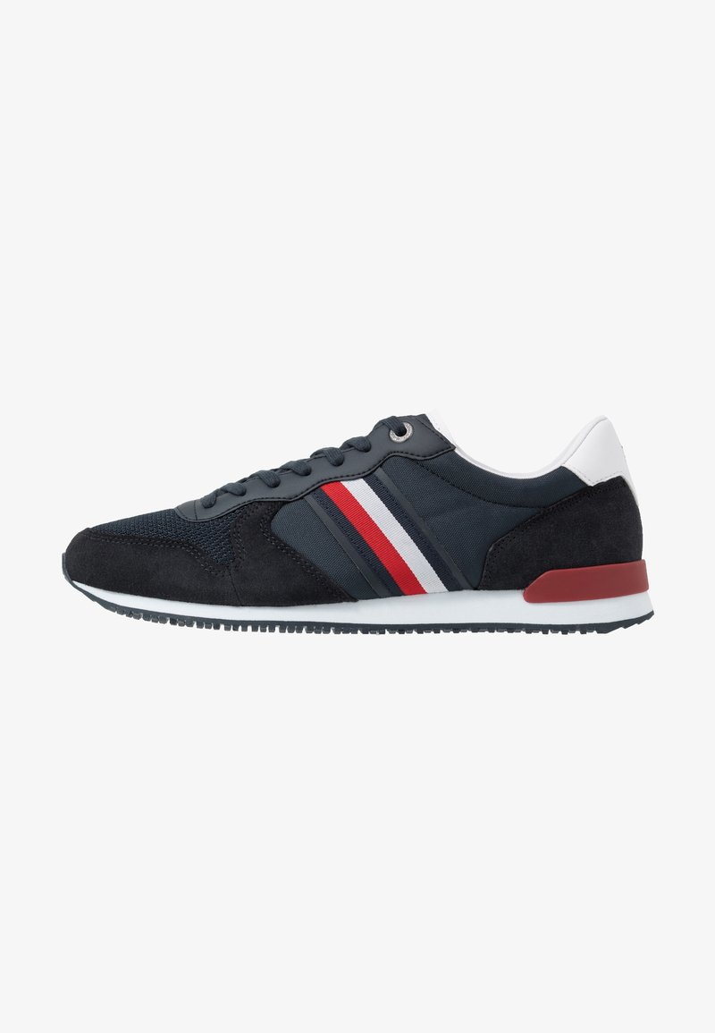 Tommy Hilfiger - ICONIC RUNNER - Sneakers - blue