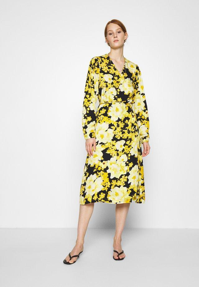 SRROSANNA MIDI DRESS - Robe d'été - yellow