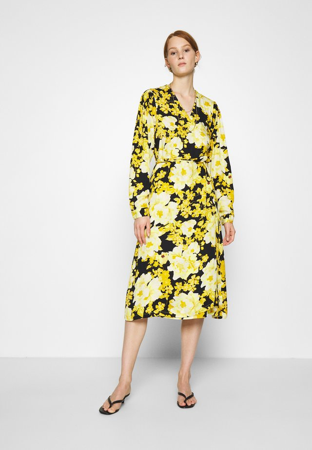 SRROSANNA MIDI DRESS - Vestido informal - yellow