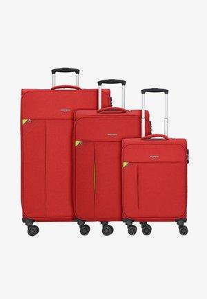 3 PIECES - Set de valises - coral red